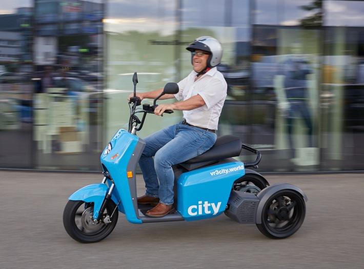 neue vR3city von vRbikes
