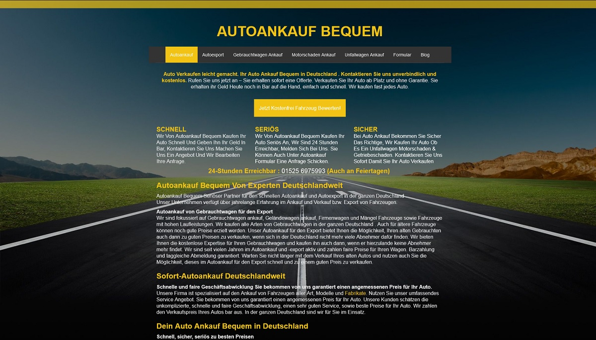 Autoankauf-bequem Ettlingen
