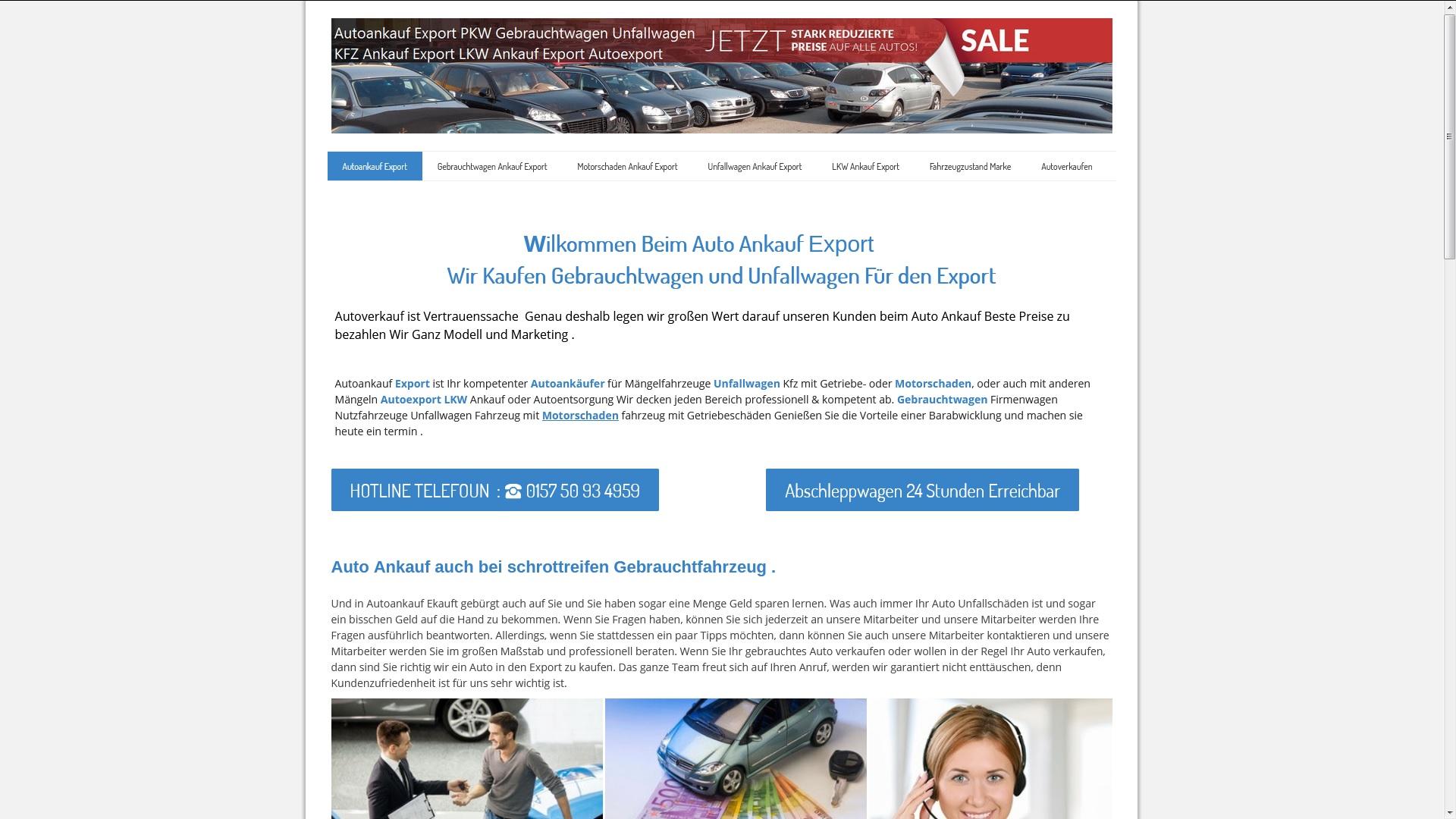 KFZ-Ankauf-Export Wilhelmshaven