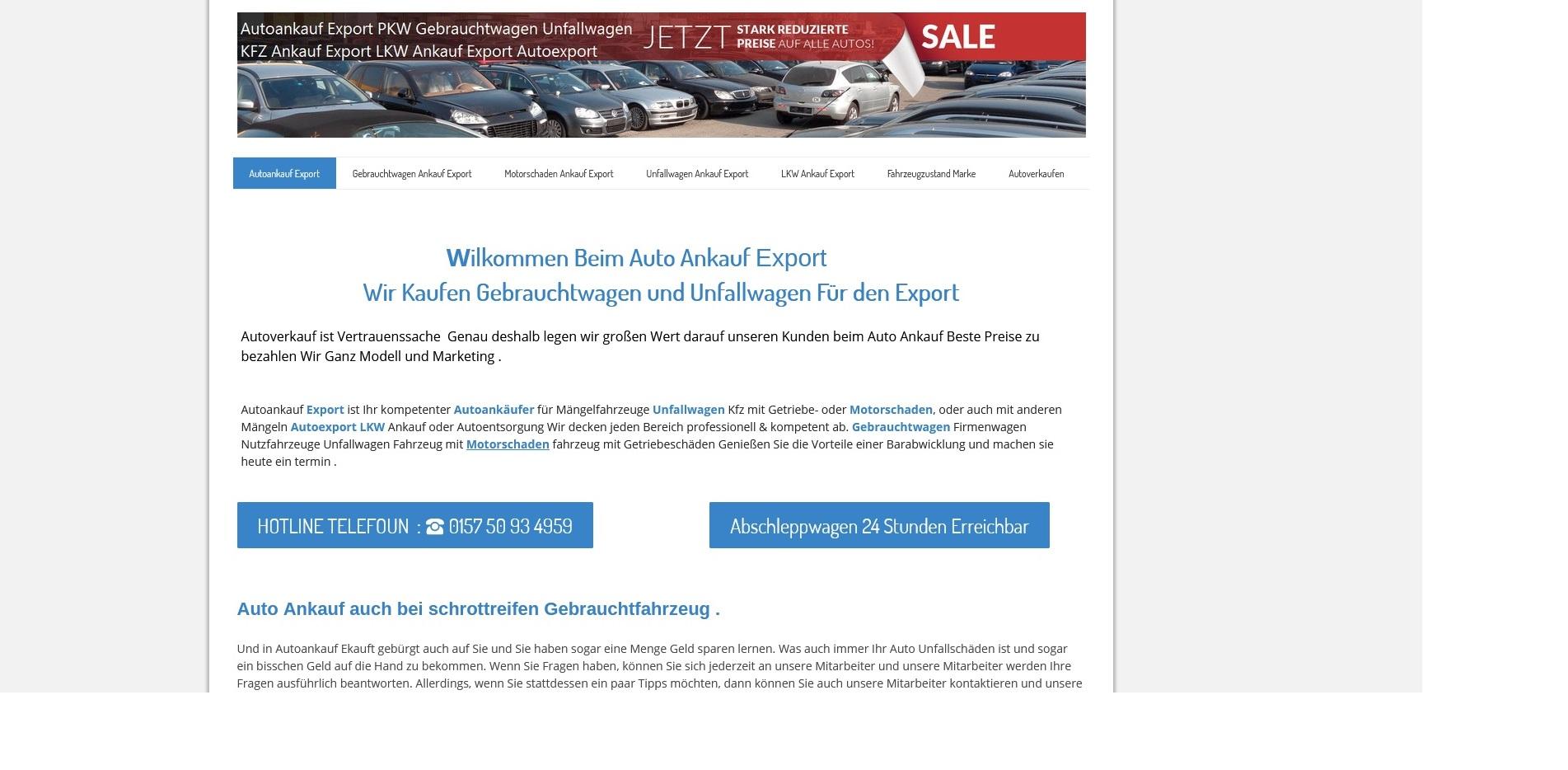 https://www.kfz-ankauf-export.de - Autoankauf Elmshorn