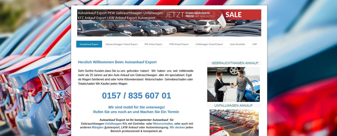 auto-ankauf-exports.de - Autoankauf Bonn